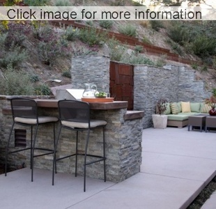 Garden feature wall designs 2