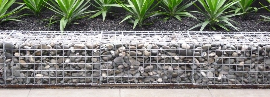 Garden Stone Wall Ideas Stone Block Walls Design Gabion1