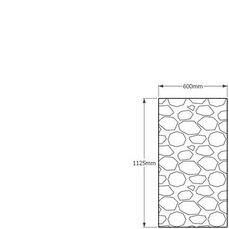 1125 x 600mm gabion profil