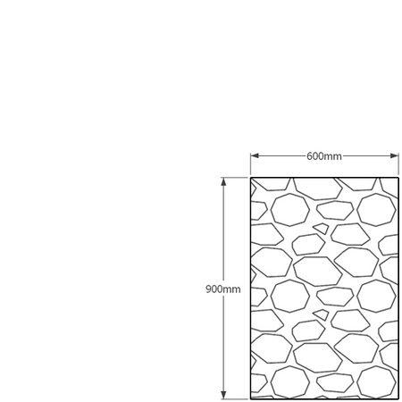 900 x 600mm gabion profile