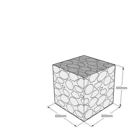 600mm cube gabion
