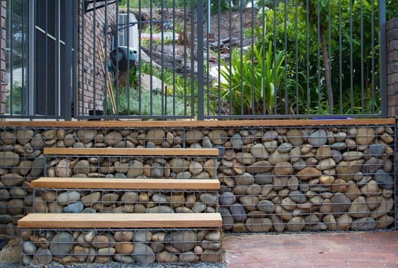 Gabion retaining wall gabion1 uk Gabion wall design