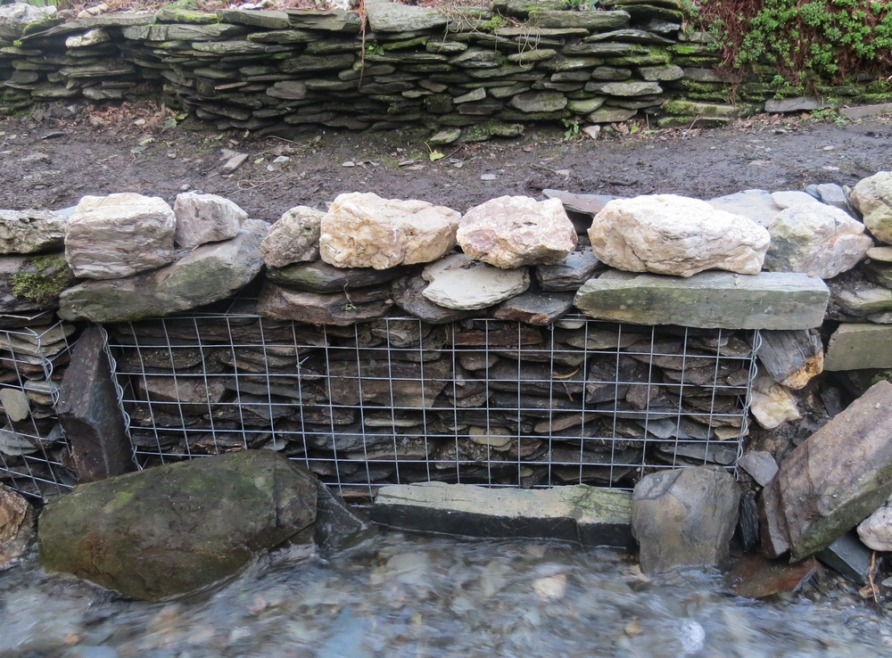 gabion erosion repaired
