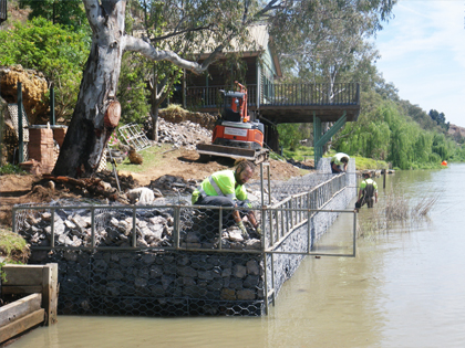 gabion-erosion-river bank protection