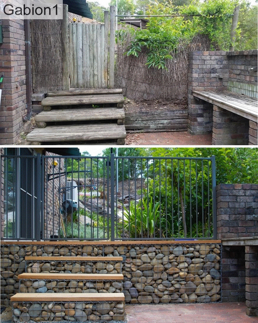 gabion steps eaxample