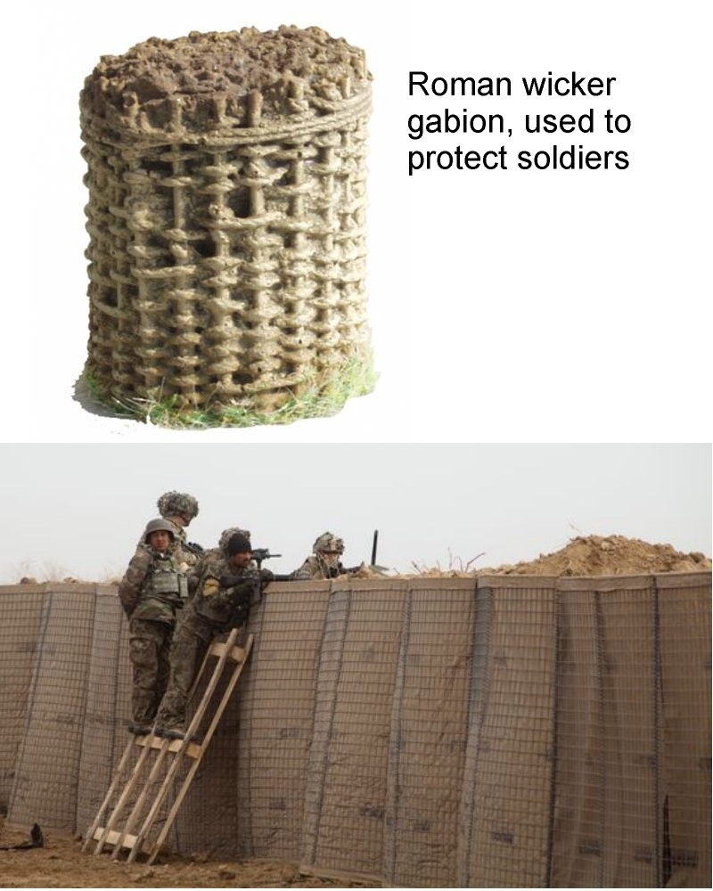 military gabion